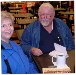 Jeanette and I At B&N (HHI)