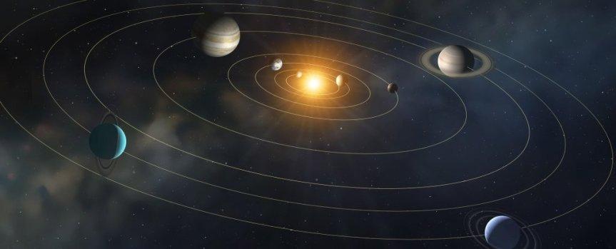 The earth revolves around thesun?