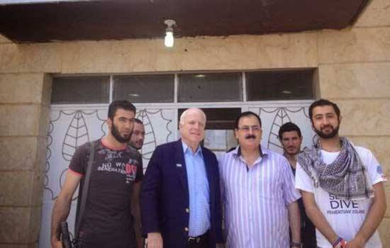McCain In Syria