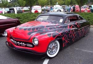 1950-Mercury-black-red-flames-le